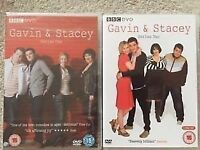 GAVIN & STACEY SERIES 1 & 2 DVDS