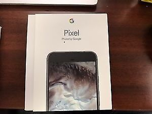 Google Pixel Brand New in Box Sealed Unlocked Quite Black