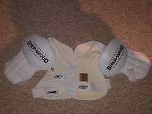 XL Sherwood 5030 shoulder pads asking 30 - excellent used cond