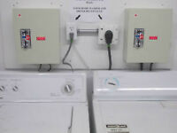 Electronic Coin Controlers - Washer and Dryer.