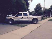 Ford F250 super duty.  safetied and etested