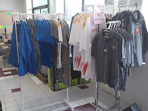 NEW PAN AM GAMES CLOTHING BLOW-OUT- SHIRTS & COATS - $5.00