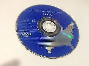 Toyota Sienna Navigation Dvds