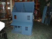doll house 3.5ft tall made of wood great for kids or a hobbie