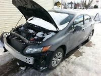 Repairs to automobiles smashed or broken
