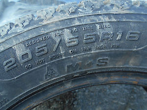 "Winter goodyear 16""inch nordic tires Kingston Kingston Area image 2"