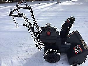 "9 hp / 24"" 342cc Snowblower Commercial great"