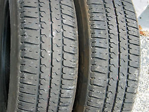 185/65R15 Set of 2 Uniroyal Used Free Inst.&Bal.85%Tread Left