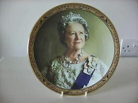 The Queen Mother Royal Grafton Fine Bone China Collectors Plate