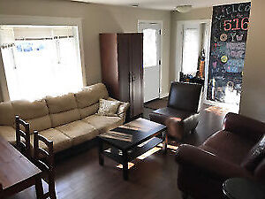 all inclusive, fully furnished summer sublet close to Western!