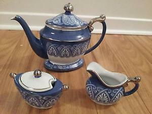 Bombay Prestwick Blue & White Coffee & Tea, Brand New, Gorgeous! West Island Greater Montréal image 3