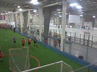 GTA Sportsplex! Indoor soccer, baseball, cricket,lacrosse more!