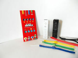 Club Nintendo Wii Remote Strap Set Mario Bros