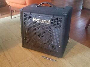 Roland KC-60 keyboard amp (plus vocal XLR, or ipad line-in)