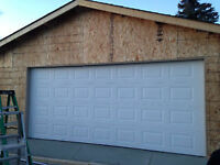 New garage door - Bow River Doors