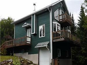 Chalet/maison à vendre