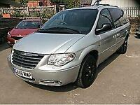 2006 CHRYSLER GRAND VOYAGER LIMITED XS PETROL