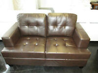 NEW BROWN LOVE SEAT 550
