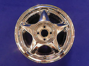 WANTED 16 or 17 in  4 bolt pony wheels