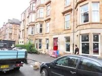 Traditional 2 bedroom ground floor flat Langside Road Govanhill Avail Now