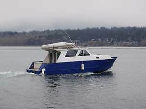 REDUCED - WESTCOAST BEAUTY/RUGGED LUXERY ALUMINUM BOAT