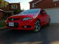 2012 Honda Civic Coupe (2 door) LX with Si Options