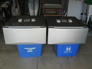PEDESTAL DRAWERS for washer and dryer