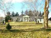 East Gwillimbury:Country Ranch Style Bungalow, Large Lot