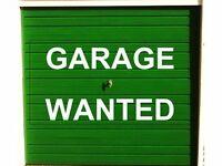 Double Garage/Storage unit WANTED