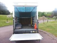 Driver With Van Glasgow Removals, Collection and Deliveries 2 men & luton with tail lift