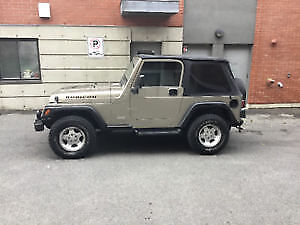 2003 Jeep Wrangler Convertible /1997 sea doo package for 7400