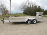 7x14 Trailer for rent $85/day 5000 lb cargo