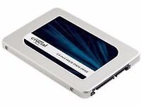 Crucial MX300 750 GB SATA 2.5 Inch Internal Solid State Drive with 9.5 mm Adapter - Brand New