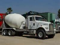Ready-Mix Driver Needed! Minimum 2 years experience!