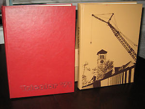 Queens University Tricolor Yearbooks 1971 & 1973 - Mint $40 each