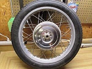 BMW R75/5 rear wheel