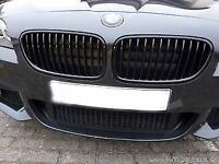 BMW F10 5 Series Gloss Black Grills