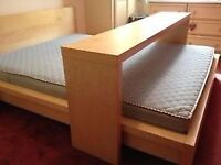 OVERBED TABLE OR SIDE TABLE (rolling)