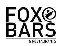 Bartenders and Commis Chef/Chef de Partie/Kitchen Porter - FOX @ EXCEL