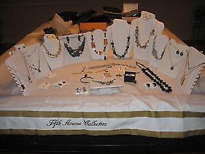 Bijoux- colliers neuf  (pierre Swarovski)