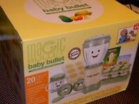 Baby Bullet Purees Fresh Baby Food With Full Weaning Kit Magic Bullet Processor rrp£60
