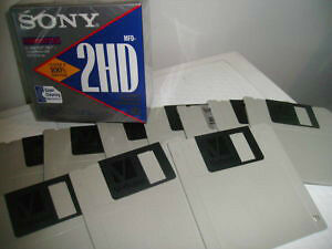 SONY 3.5 FLOPPY DISKS - (NEW or USED)