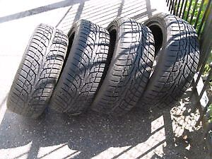 Winter  Tires 215/55R16. Less then 2000kms