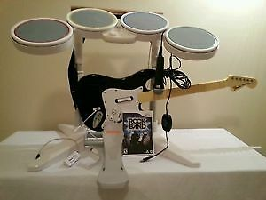 Rock Band Package for Nintendo Wii, $150