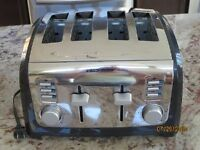 Grille pain 4 tranches Black & Decker / 4 slice Toaster