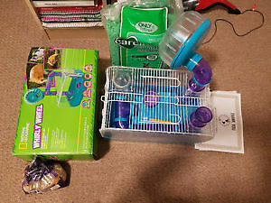Hamster cage and start up kit