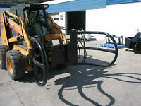 HLA ROUND BALE GRAPPLE FROM TIMBERLAND