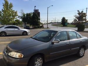 2001 Nissan Sentra GXE Sedan