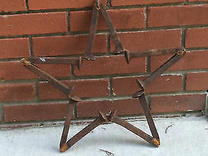 Rustic Star from Railroad Spikes London Ontario image 2