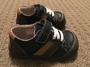 Toddler shoes (boy), never used, size 6